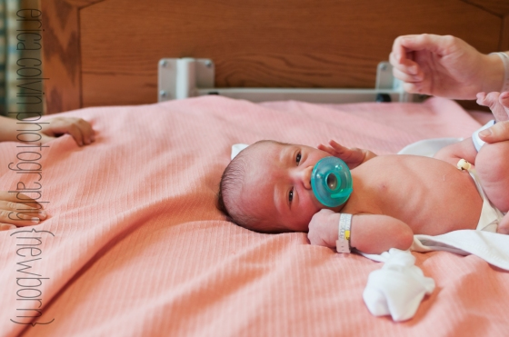 Hello World Montgomery County PA Newborn Photography